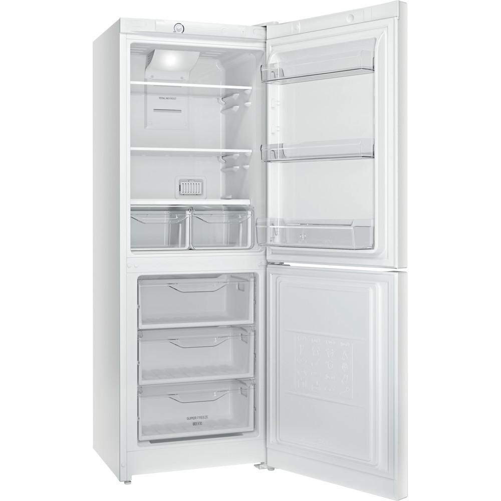 Indesit Холодильник с морозильной камерой Отдельностоящий ITF 016 W Белый 2 doors Perspective open
