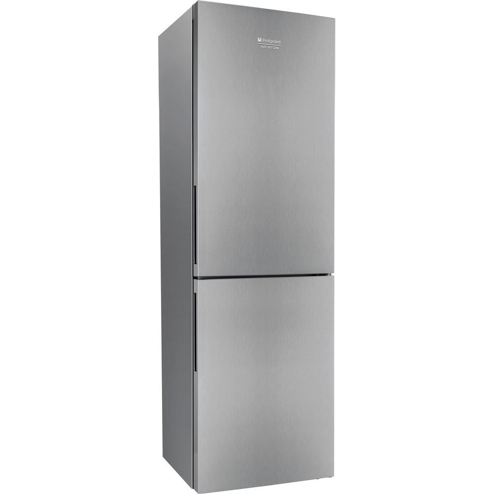 Hotpoint_Ariston Комбинированные холодильники Отдельностоящий HS 4180 X Нержавеющая сталь 2 doors Perspective