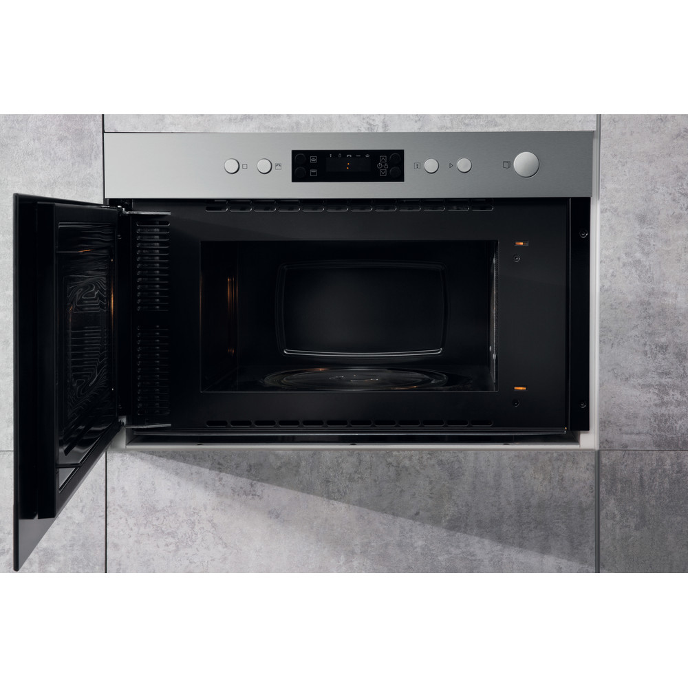 Hotpoint Built In Microwave Oven Inox Color Mn 314 Ix H