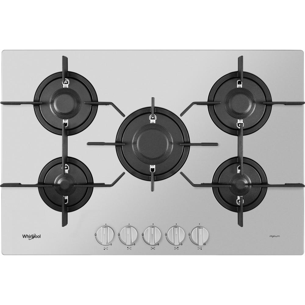 Whirlpool Gas Hob: 5 gas burners - PMW 75D2/IXL