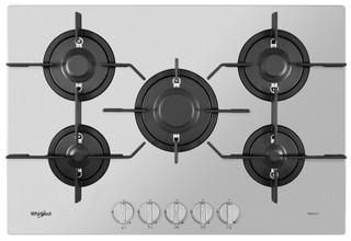 Placa a gás da Whirlpool: 5 Queimadores - PMW 75D2/IXL