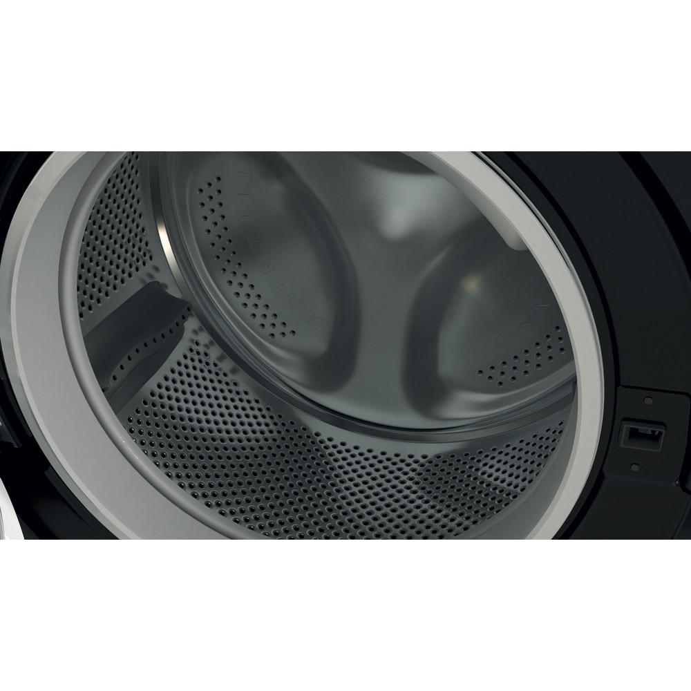 Indesit Washer dryer Free-standing BDE 861483X K UK N Black Front loader Drum
