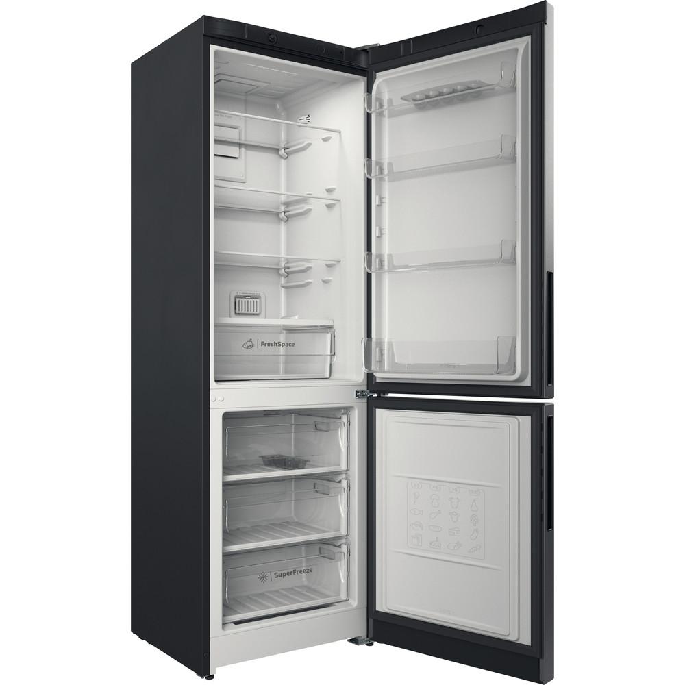 Indesit Холодильник с морозильной камерой Отдельностоящий ITD 4180 S Серебристый 2 doors Perspective open