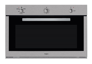 Whirlpool built in gas oven: inox color - AKR 047/01/IX SA