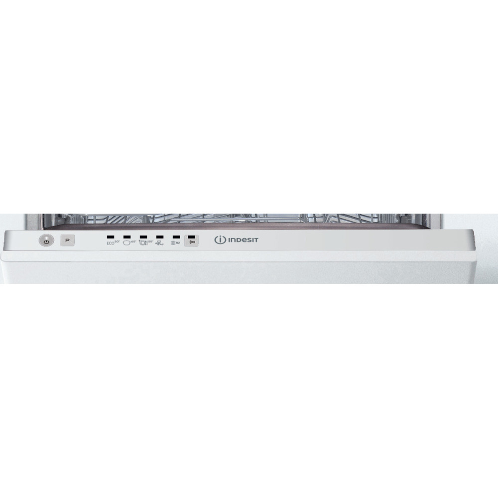 Indesit Dishwasher Built-in DSIE 2B10 UK N Full-integrated F Control panel