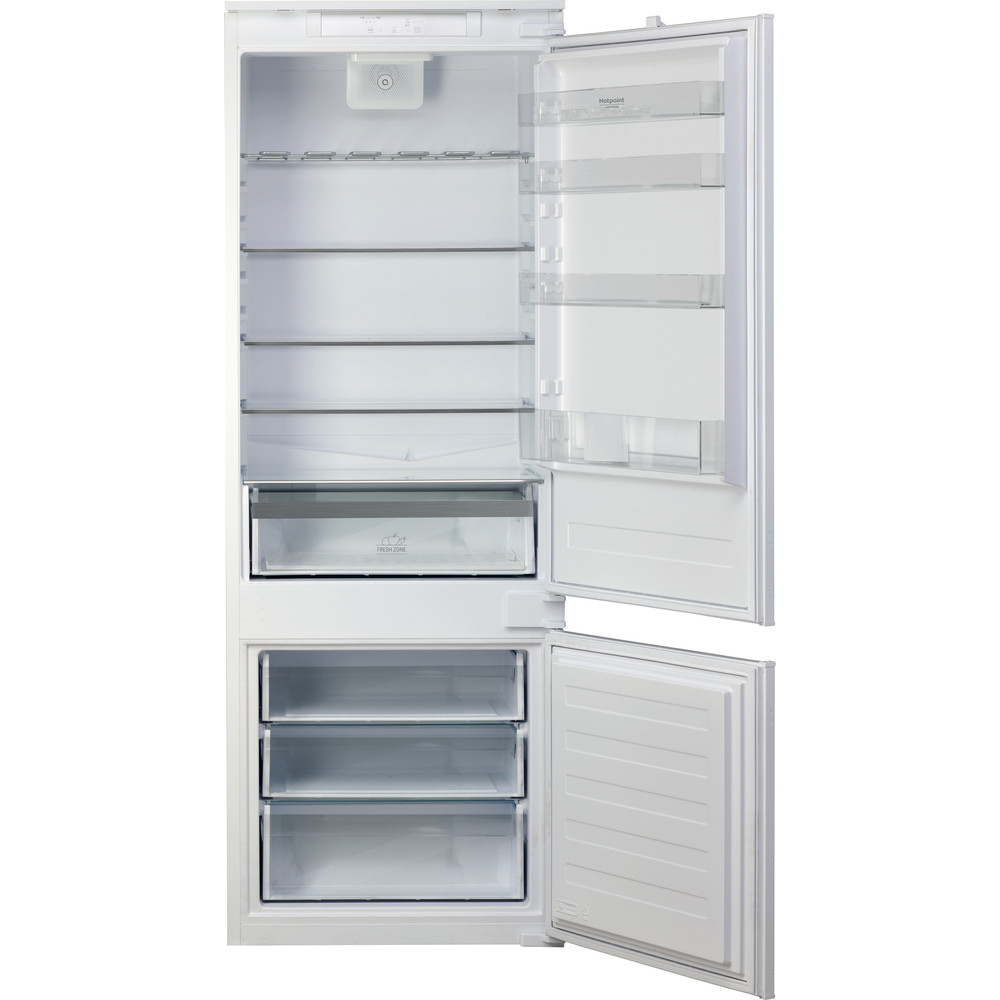 Hotpoint_Ariston Combinados Incorporado BCB 4010 E O31 Blanco 2 doors Frontal open