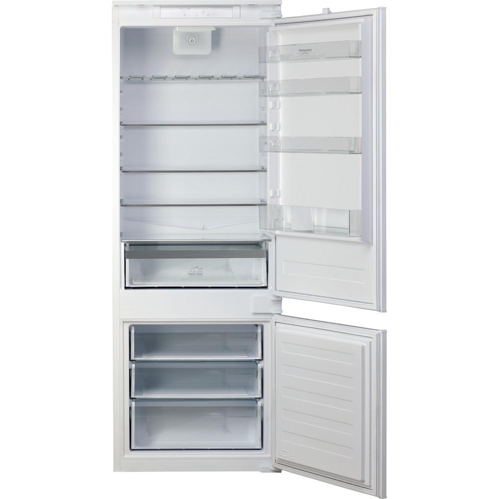 Hotpoint_Ariston Combinazione Frigorifero/Congelatore Da incasso BCB 4010 E O31 Bianco 2 porte Frontal open