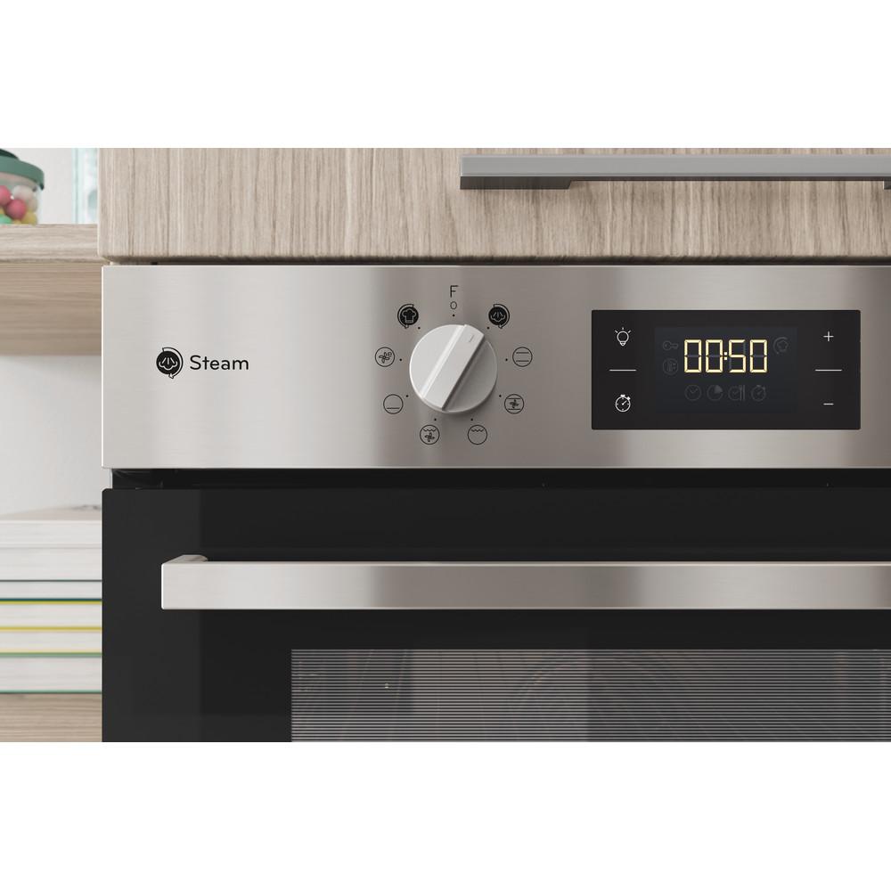 Indesit Four Encastrable IFWS 6540 C IX Electrique A Lifestyle control panel