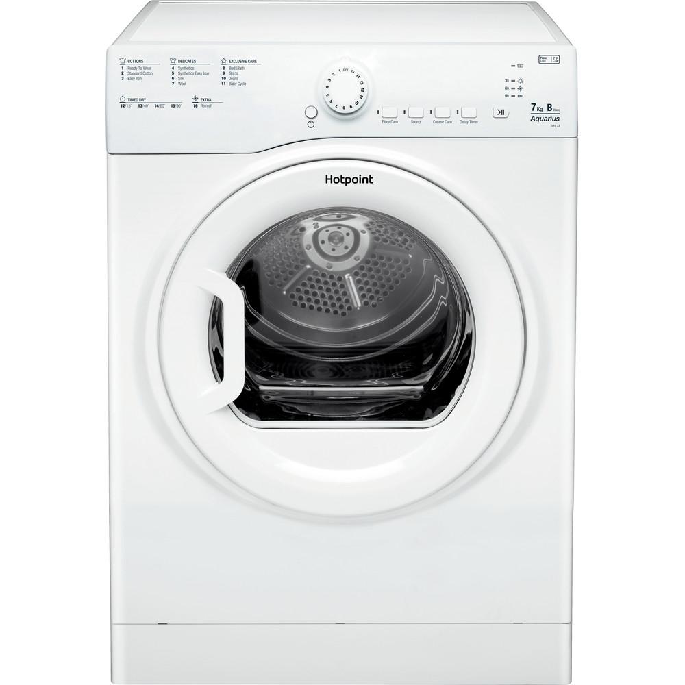 Hotpoint Dryer TVFS 73B GP.9 UK White Frontal