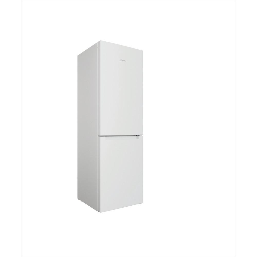 """""""Indesit"""" Šaldytuvo / šaldiklio kombinacija Laisvai pastatoma INFC8 TI21W Balta 2 doors Perspective"""
