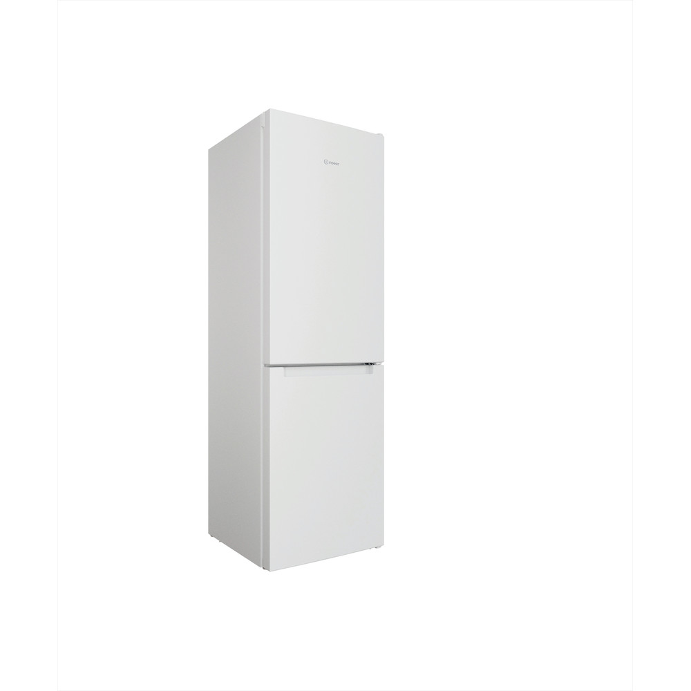 Indesit Kombinacija hladnjaka/zamrzivača Samostojeći INFC8 TI21W Bijela 2 doors Perspective