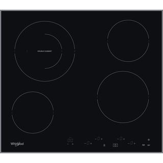 Whirlpool Ploča za kuhanje AKT 8601 IX Crna Radiant vitroceramic Frontal