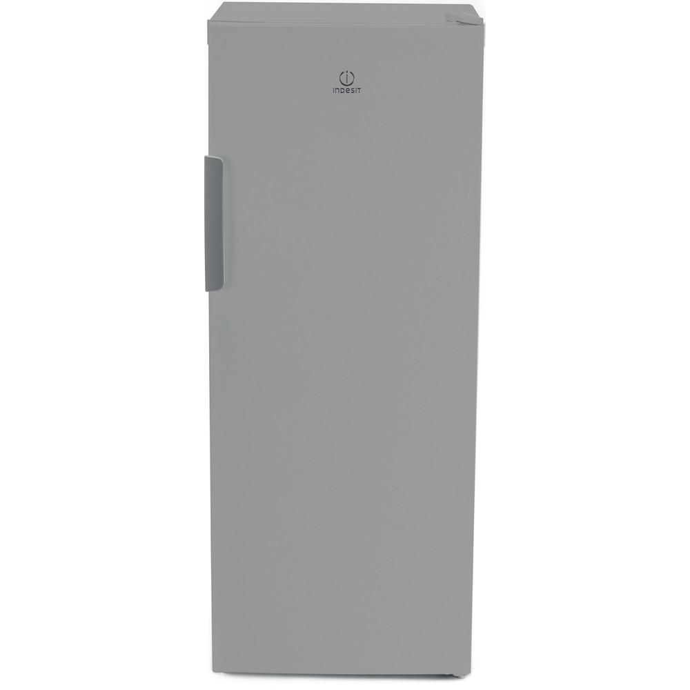 Indesit Морозильная камера Отдельностоящий DFZ 4150.1 S Серебристый Frontal