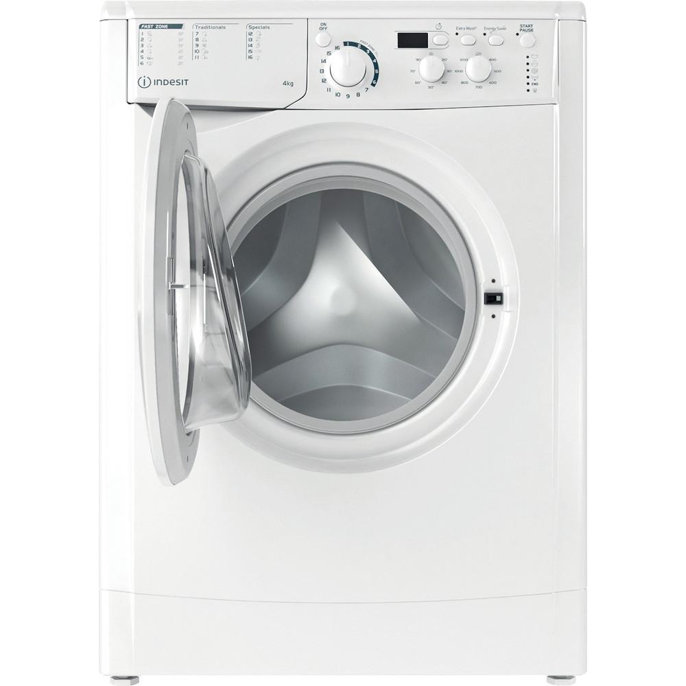 Indesit Tvättmaskin Fristående EWUD 41251 W EU N White Front loader F Frontal open
