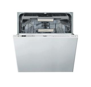 Съдомиялна за вграждане Whirlpool: цвят инокс, пълен размер - WIO 3T133 DEL