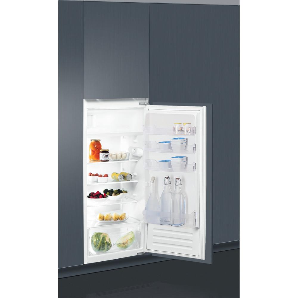 Indesit Réfrigérateur Encastrable SZ 12 A2D/I 1 Inox Perspective open