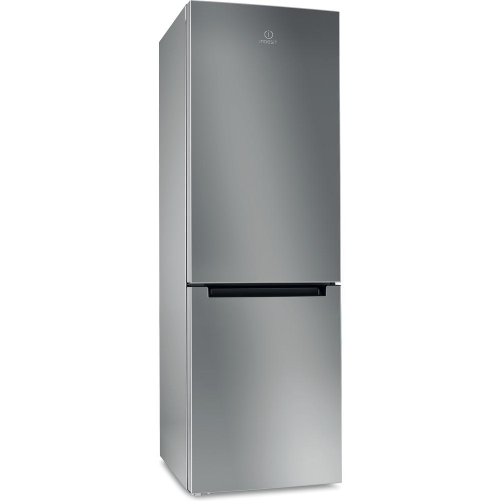 Indesit Холодильник з нижньою морозильною камерою. Соло DS 3181 S (UA) Сріблястий 2 двері Perspective