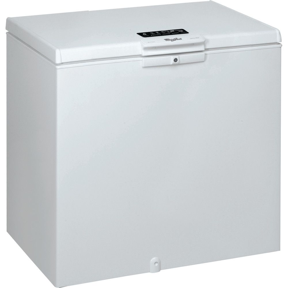 Whirlpool frysbox: färg vit - WHE25332