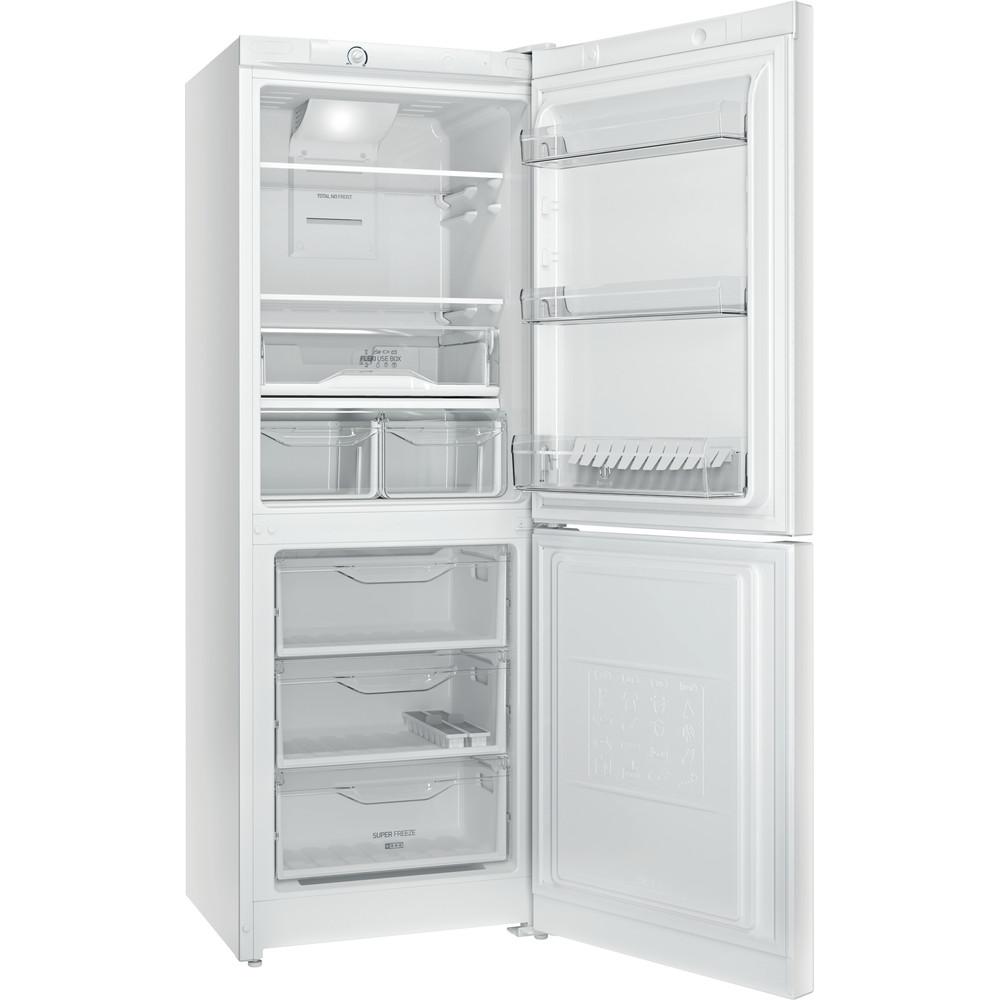 Indesit Холодильник з нижньою морозильною камерою. Соло DF 4161 W Білий 2 двері Perspective open
