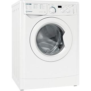 Indesit Washing machine Free-standing EWD 81483 W UK N White Front loader D Perspective