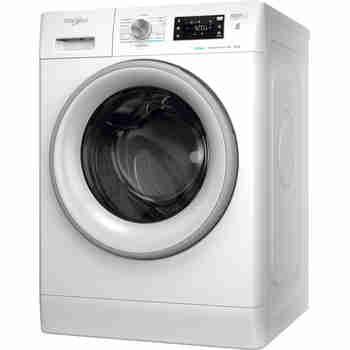Whirlpool Maşină de spălat rufe Independent FFB 8248 SV EE Alb Încărcare frontală C Perspective