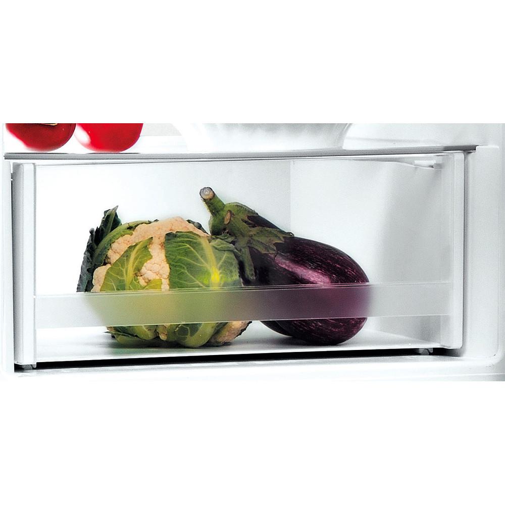 Indesit Kombinovaná chladnička s mrazničkou Volně stojící LI7 SN1E X Nerez 2 doors Drawer