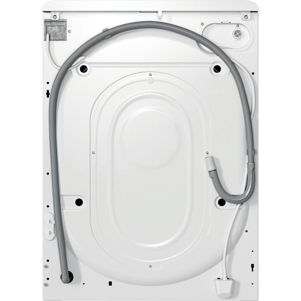 Indesit Waschmaschine Freistehend MTWA 71483E W DE Weiß Frontlader D Back / Lateral