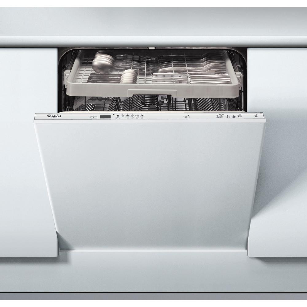 Whirlpool integrerad diskmaskin: färg silver, 60 cm - ADG 2330 FD
