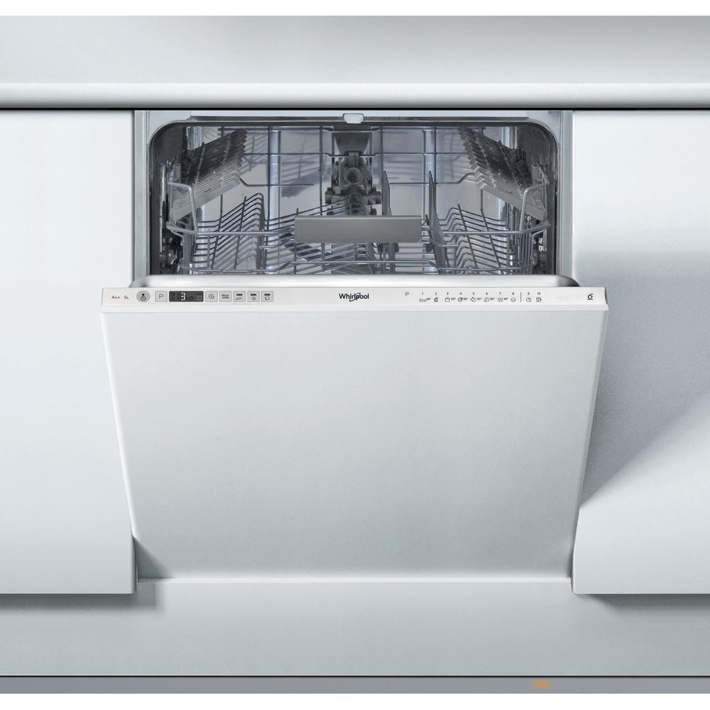 Посудомийна машина Whirlpool інтегрована: колір нержавіючої сталі, повногабаритна - WIO 3C23 6 E