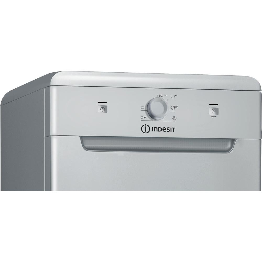 Indesit Посудомоечная машина Отдельно стоящий DSFE 1B10 S Отдельно стоящий A+ Control panel
