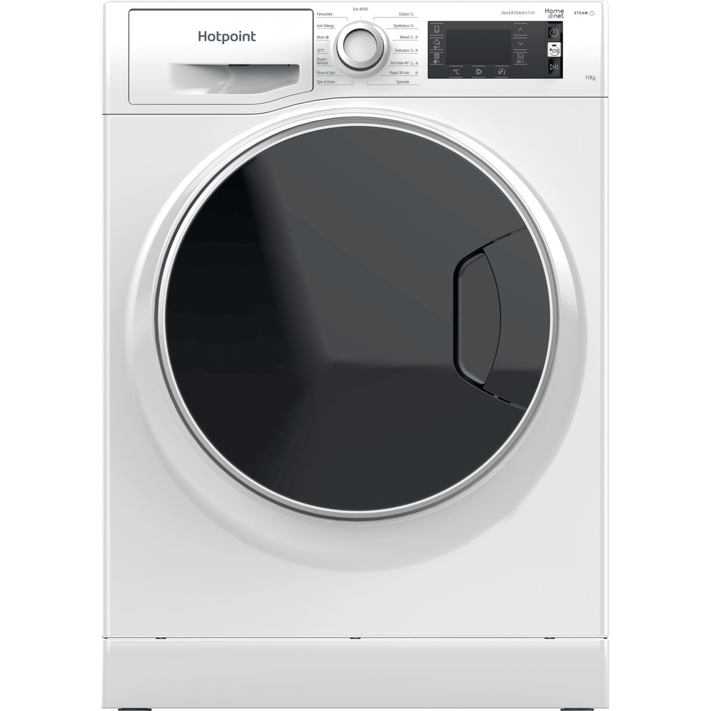 Hotpoint Washing machine Free-standing NLCD 1164 D AW UK N White Front loader A+++ Frontal