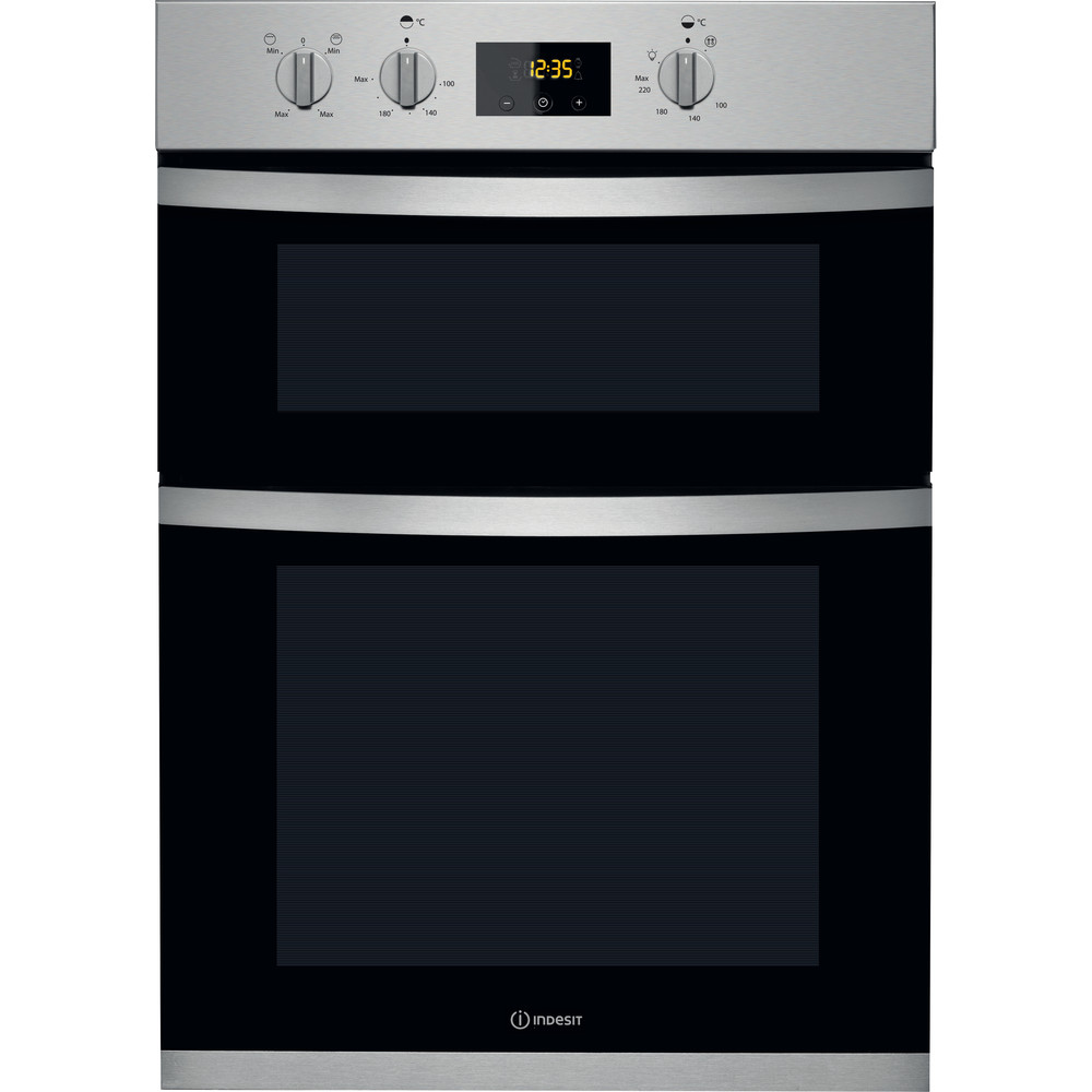 Indesit Double oven KDD 3340 IX Inox A Frontal