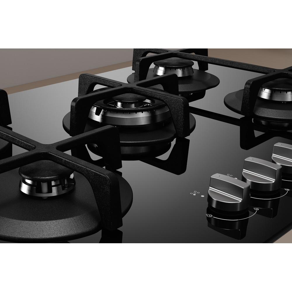 Indesit HOB ING 72T/BK Black GAS Heating element