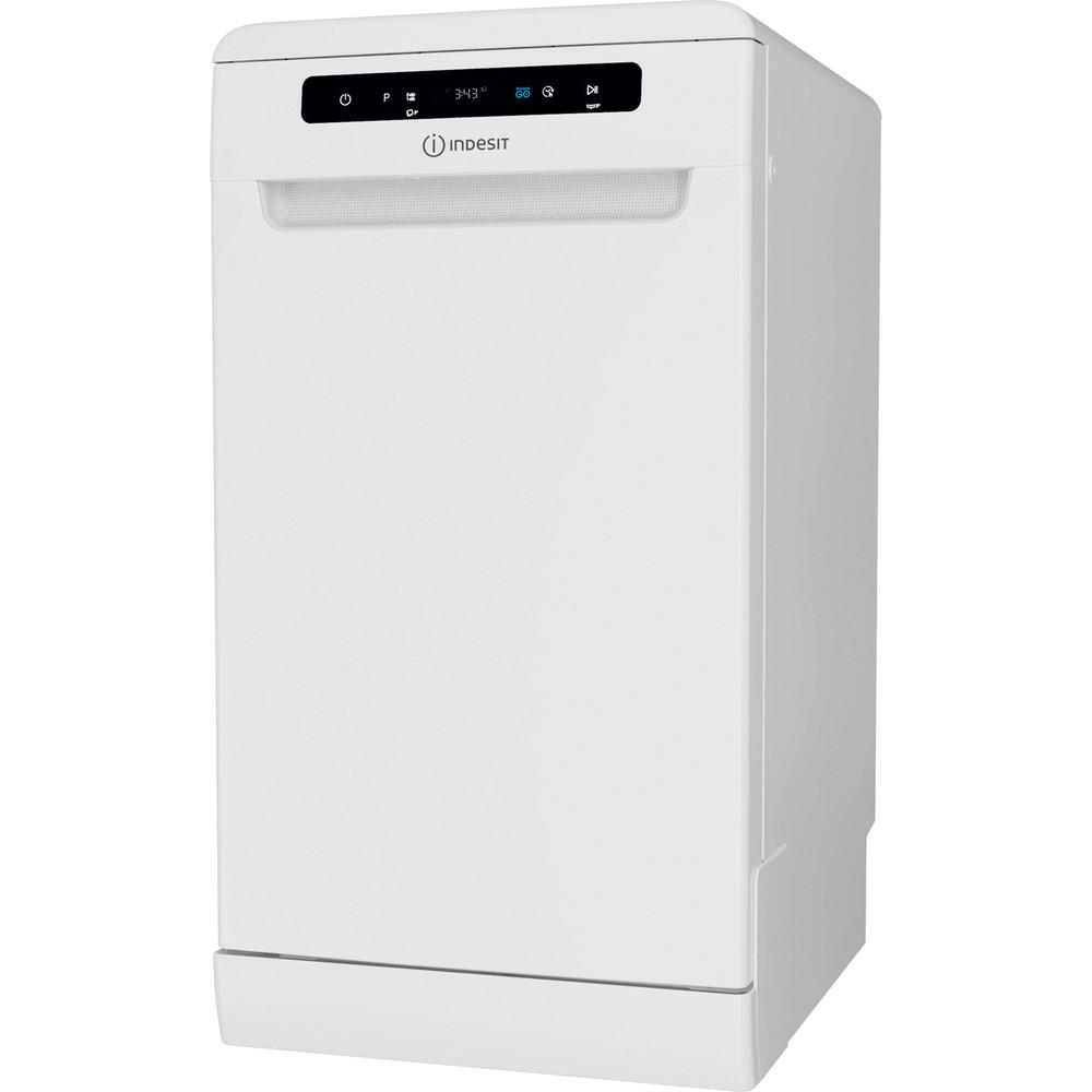 Indesit Mašina za pranje posuđa Samostojeći DSFO 3T224 C Samostojeći A++ Perspective
