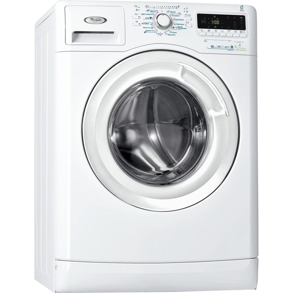 Whirlpool frontmatad tvättmaskin: 9 kg - AWOE 9424