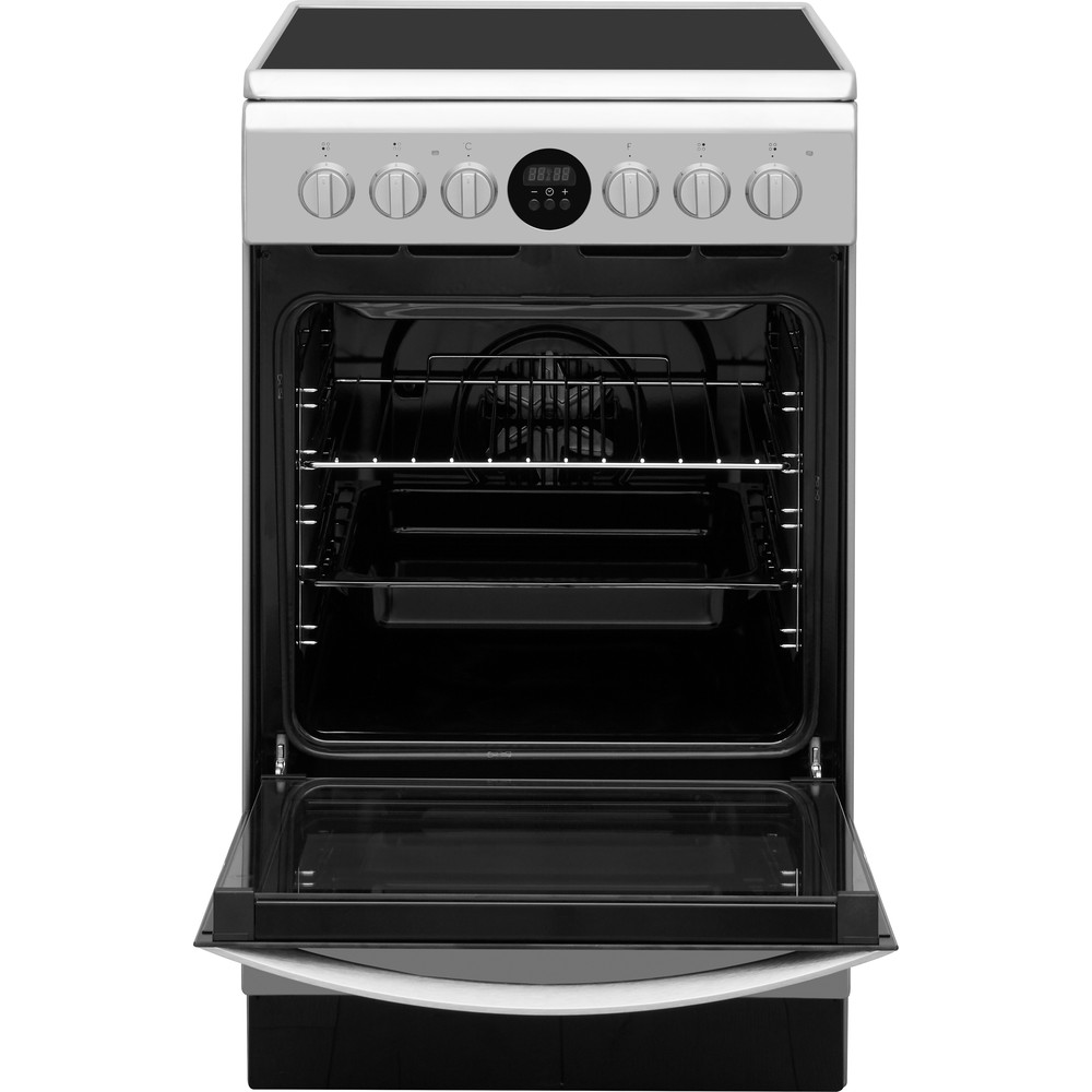 Indesit Плита IS5V5CCX/EU Inox Electrical Frontal open