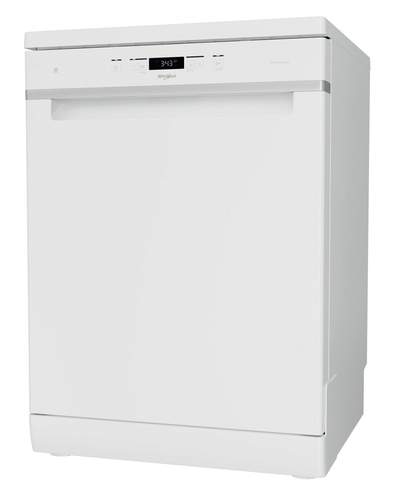 Whirlpool Dishwasher Free-standing WFC 3C33 PF UK Free-standing D Perspective