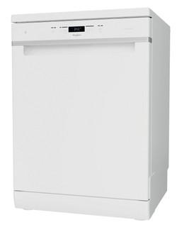 Whirlpool dishwasher: white color, full size - WFC 3C33 PF UK