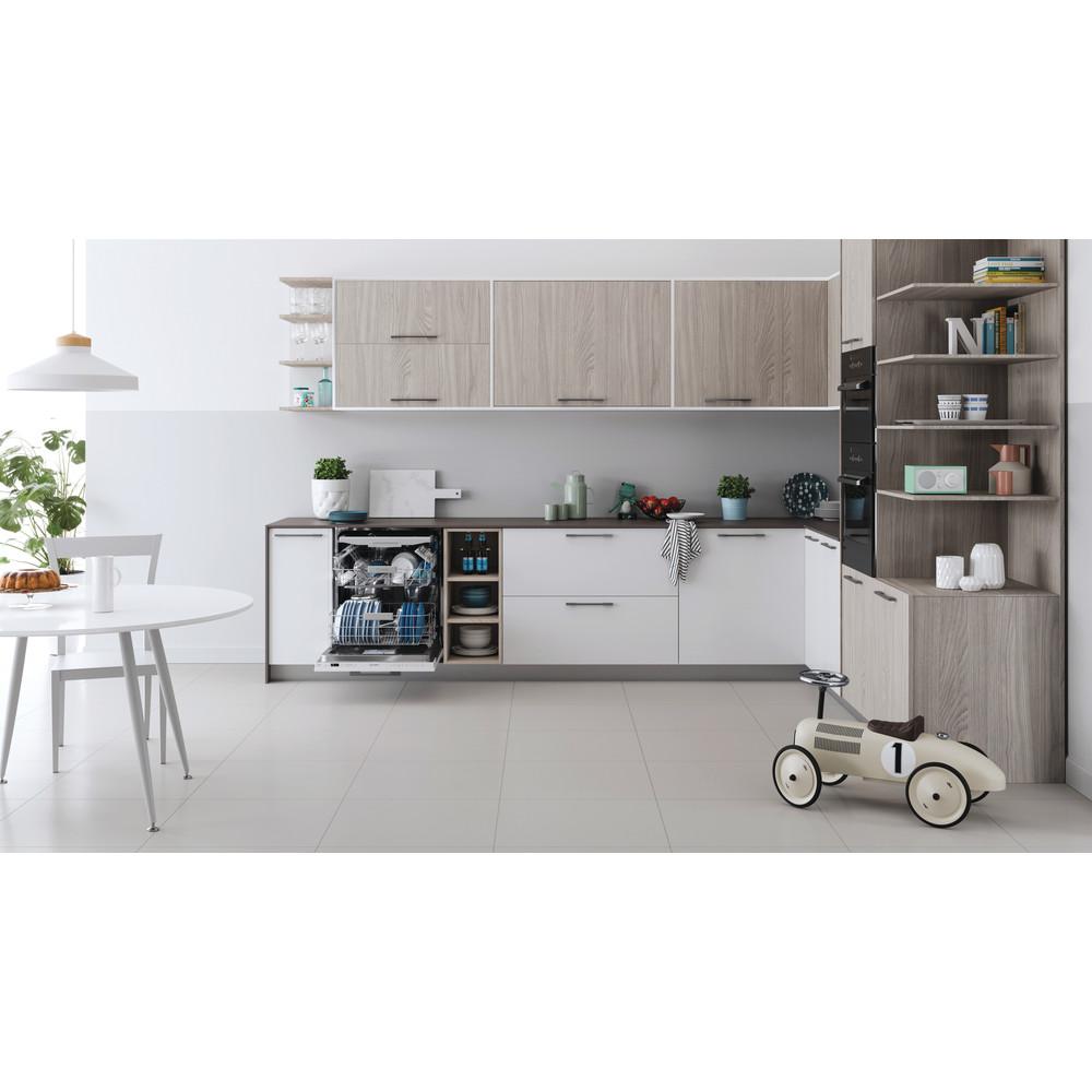 Indesit Lave-vaisselle Encastrable DIO 3T131 A FE Tout intégrable D Lifestyle frontal open