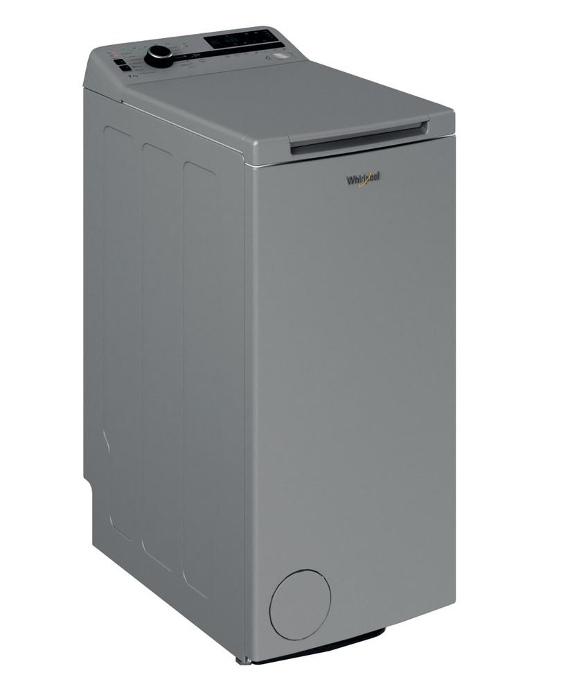 Whirlpool Washing machine Samostojni TDLRS 7222BS EU/N Silver Top loader A+++ Perspective