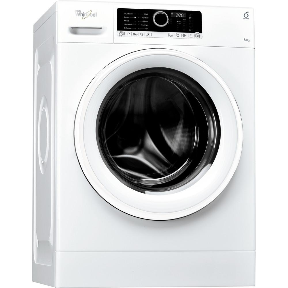 Whirlpool frontmatad tvättmaskin: 8 kg - FSCR80410