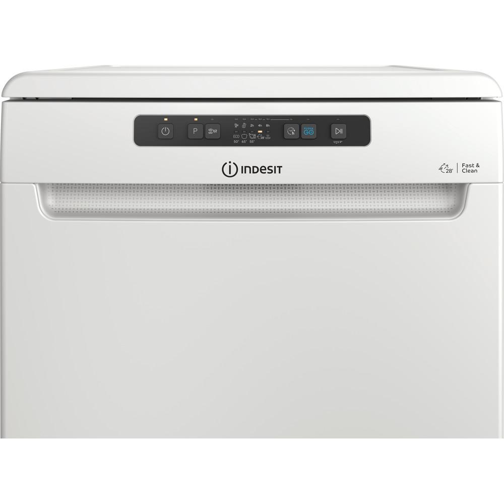 Indesit Dishwasher Free-standing DFC 2B+16 UK Free-standing F Control panel