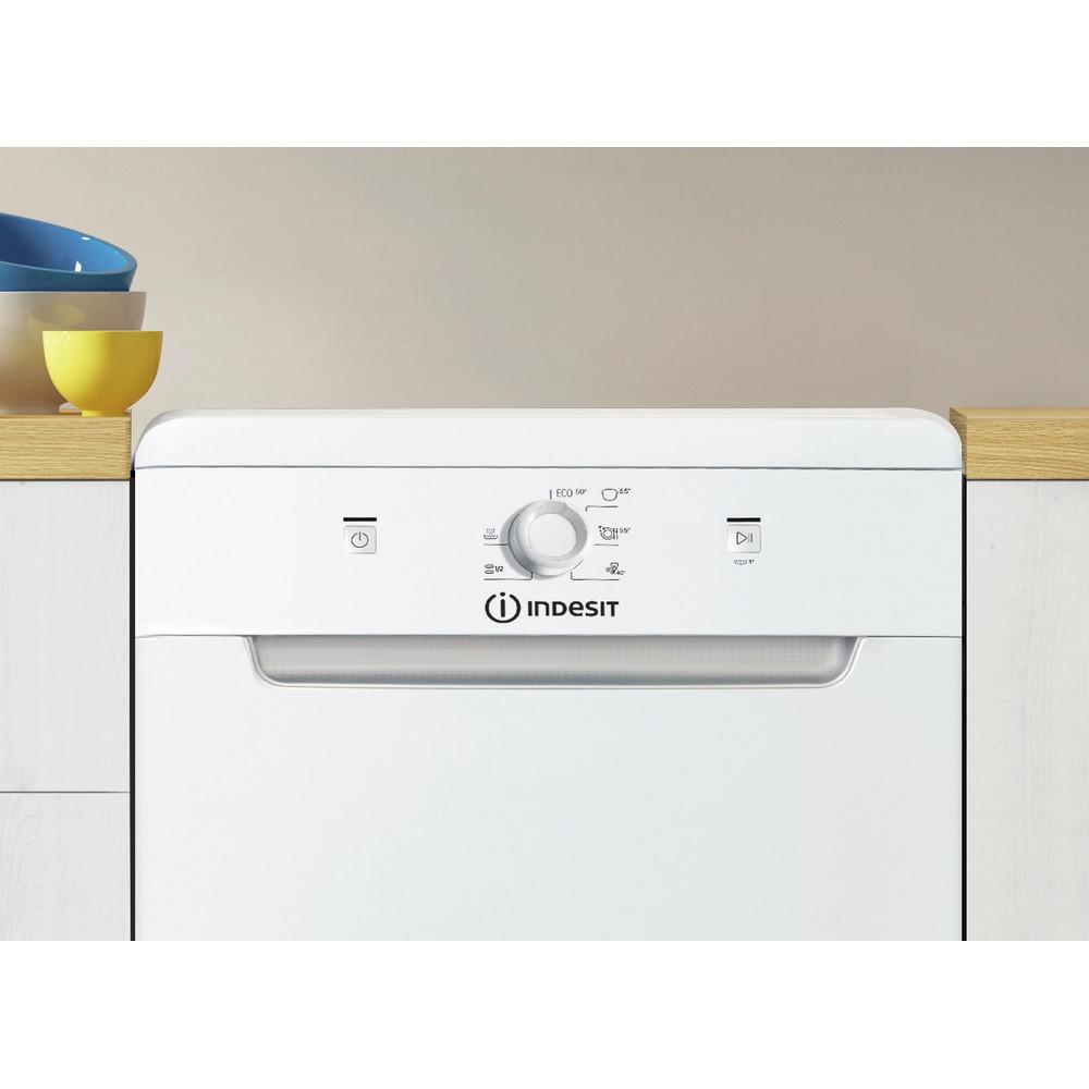 Indesit Dishwasher Free-standing DSFE 1B10 UK N Free-standing F Lifestyle control panel