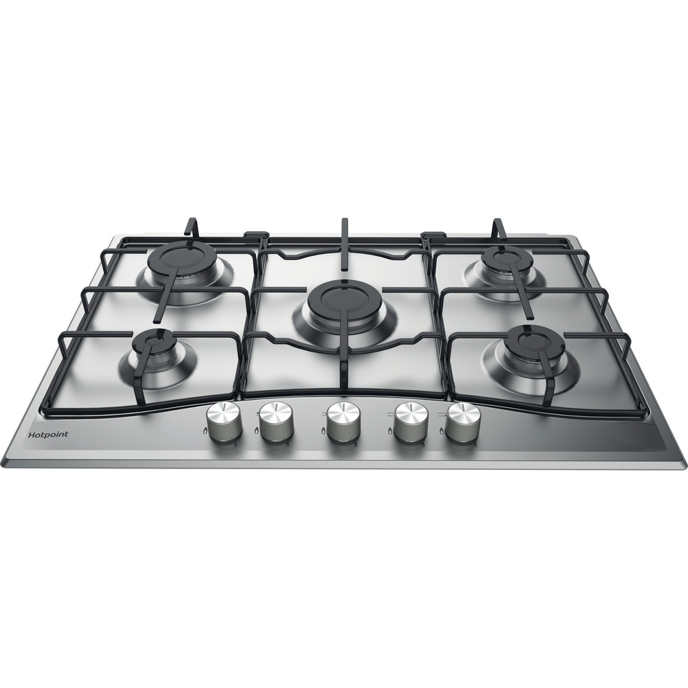 Hotpoint HOB PCN 752 U/IX/H Inox GAS Frontal_Top_Down