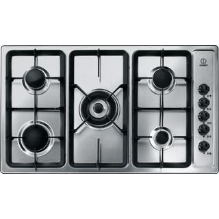 5 gas burners: Indesit gas hob