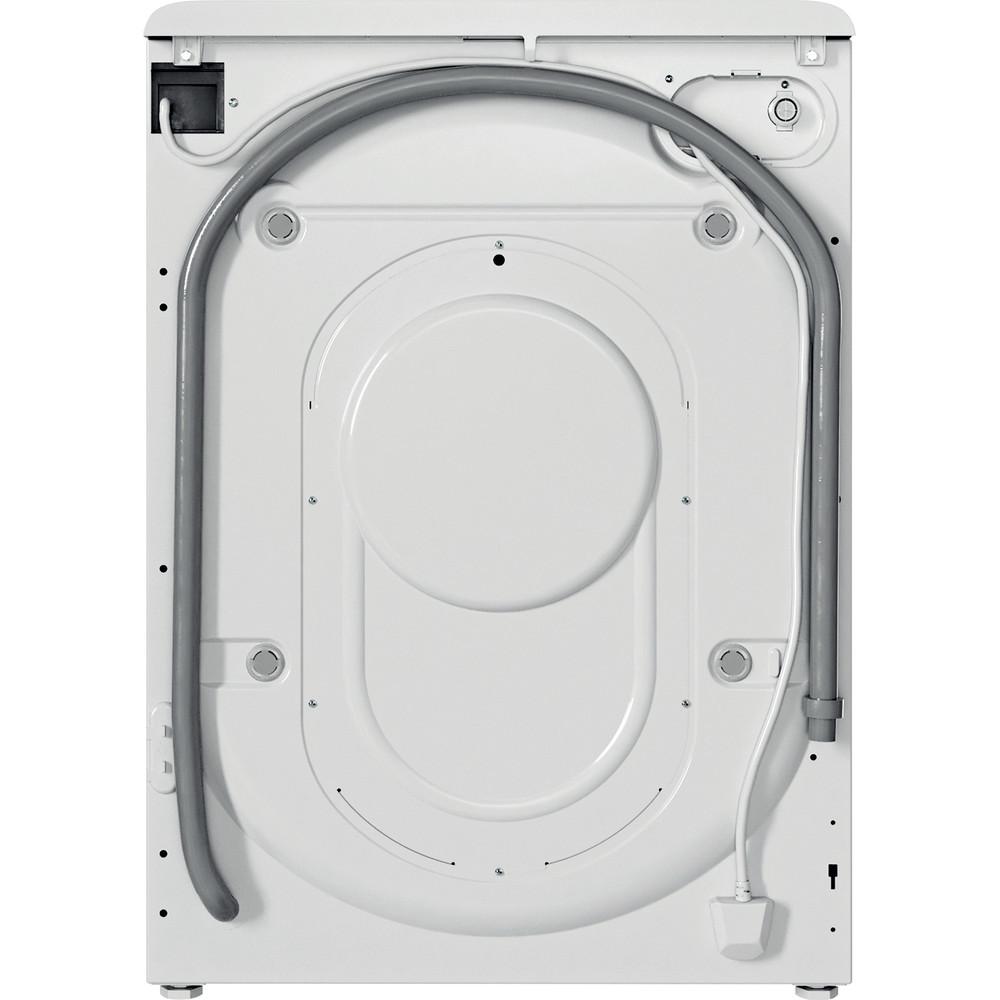 Indesit Lave-linge Pose-libre BWE 101483X WS EU N Blanc Lave-linge frontal D Back / Lateral