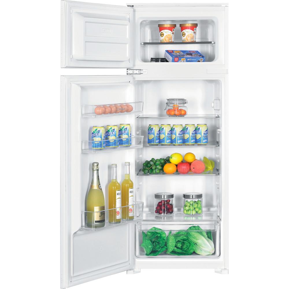 Indesit Combinazione Frigorifero/Congelatore Da incasso IN D 2040 AA/S Bianco 2 porte Frontal open