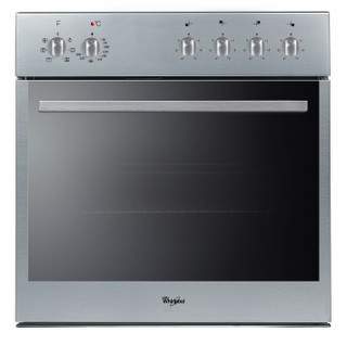 Whirlpool built -in electric oven: inox colour - AKP 543 IX