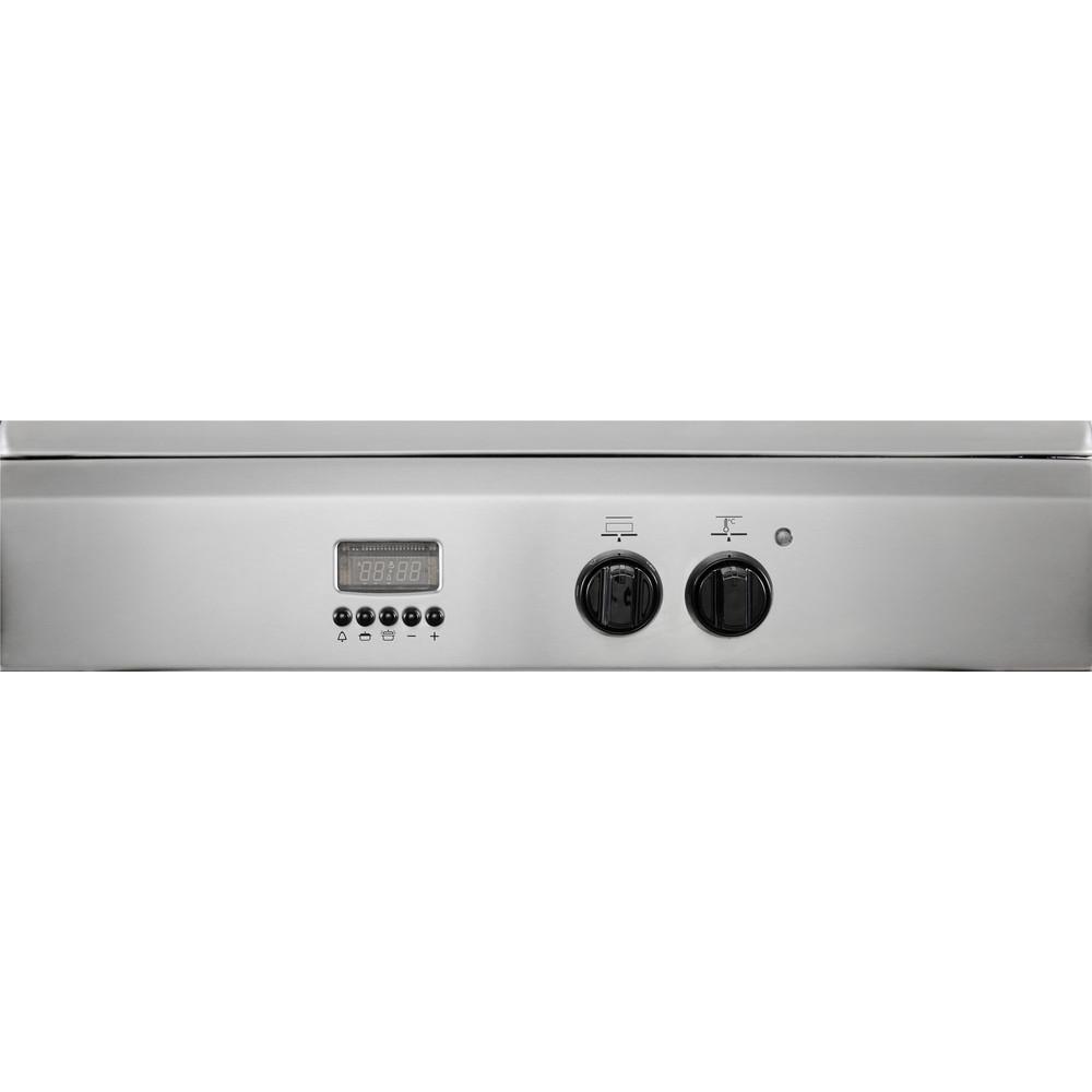 Indesit Fornuis I64I 6C6A(X)/NL Rvs Elektrisch Control panel