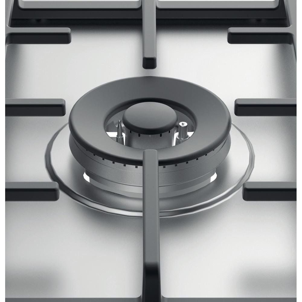 Indesit Kookplaat THP 751 W/IX/I NL Rvs Gas Heating element
